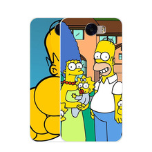 huawei y5 ii 2 Case,Silicon Popular Cartoon Painting Soft TPU IMD Back Cover for huawei y5 ii Transparent Phone Bags