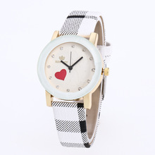 Fashion Bumpy Dial Women Watches Bracelet Red Heart Quartz Watch Colored Strap Gift Wrist relogio Damske Hodinky(China)