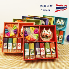 Thailand Incense Thailand Gift Boxes Set Tower Incense Short Incense Coil Aromatherapy Fragrance Fresh Air Yoga Free Shipping(China)