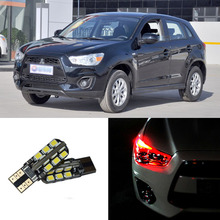 2pcs Advanced LED Width Lamps Car Wedge Warning Light Bulb For Mitsubishi ASX