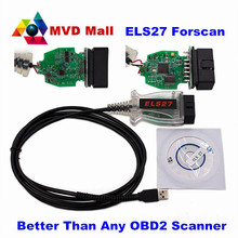 2016 New Arrival ELS27 FORScan Diagnostic For Ford/Mazda/Lincoln/Mercury Cars ELS 27 Better Than Any OBD2 Scanner Free Shipping