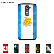 For LG G2 D801 D802 5.2 inch Mobile Phone Cover Hard Plastic Case Cellphone Protective Color Paint Skin Bag Shipping Free