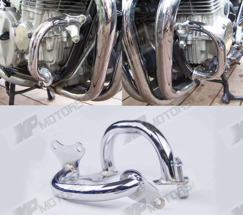 Chrome Motorcycle Engine Guard Crash Bars For Honda CB750 RC42 1992 1993 1994 1995 1996 1997 1998 1999 2000 2001 2002 2003<br>