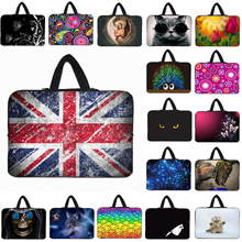 "Notebook Zipper Fashion Cases Soft Neoprene Laptop Bag 15.6 15 14 13 12 10 inch Tablet Netbook Shockproof Bags For Macbook 17""(China)"