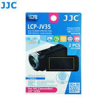 JJC LCD Guard Film for JVC Camcorders 3.5'' LCDS 2 PCS PET Video Screen Protector 78.0(W) x 44.0(H)mm(China)