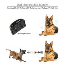 Anti Bark Collar for Small Medium Large Dogs,No Electric Shock Dog Training Collar, Stop Barking By Vibration and Sound Stimuli