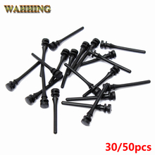 30/50pcs Computer Components PC Case Fan Mouting Pin Anti Noise Vibration Silicone Screws Anti-vibration Shock Absorption HY1571(Hong Kong)
