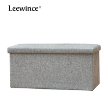 Storage Ottoman Folding Stool Scandinavian style household linen folding and shoes for the stool of the collect stool