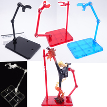 Wholesale 4 colors Action Figure Base Suitable Display Stand Bracket for 1/144 HG/RG Gundam/Animation cinema game ACG