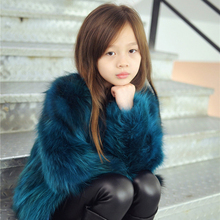 Thick warm winter coat boys and girls short raccoons Ramanja all jackets children's clothing red coat fur coat clothing