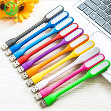 Portable Colorful Mini USB Led Night Light PC Mobile Power Reading Lamp