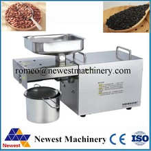 Hot selling automatic bean oil press machine/peanut oil pressing and filtering/olive oil press machine stainless steel 110v/220v(China)