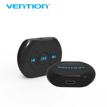 VENTION Bluetooth 4.0 Music Receiver Portable 3.5mm Wireless Bluetooth AUX Audio Receiver Adapter for Stereo Speaker Car Kit(China)