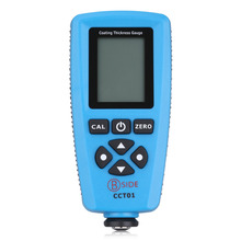 Russian Version BSIDE CCT01 Digital Portable Paint Coating Thickness Gauge Meter Width Measuring Instruments F/N Probe Tester