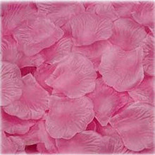 1000pcs Fabric Rose Petals Table Confetti Flower wedding decoration Engagement Birthday Party Festive Events party Supply