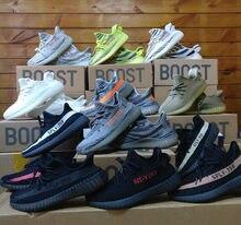 9f2dec1431aad Hot Sale Yeezys Air 350 V2 Zebra Orange Grey Beluga 2.0 350v2 Black Red  Bred Kanye West Running Shoes popcorn