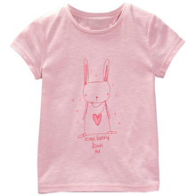2017 New baby Kids Girls T shirt Child Clothing Childrens Tops Summer Clothes Short Sleeve Tee blouse shirts Cartoon nina fille