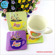Drinks Holder Mat Tableware Placemat For Bar Home Cup Accessories Custom Advertising Logo Cup Coaster custom design only
