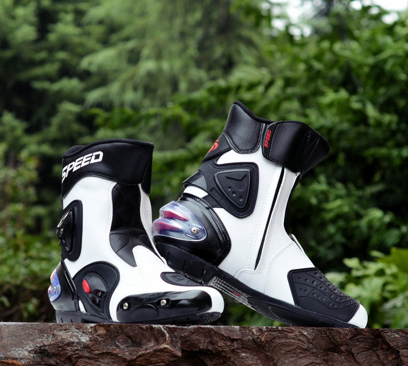 2015 Motorcycle bottes de moto Pro Biker SPEED Racing bottes, Motocross bottes, Moto bottes  moto helmet Perfect match<br><br>Aliexpress