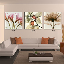 flowers  modular wall painting on canvas. modular picture poster Boards to room. wall pictures for living room canvas painting