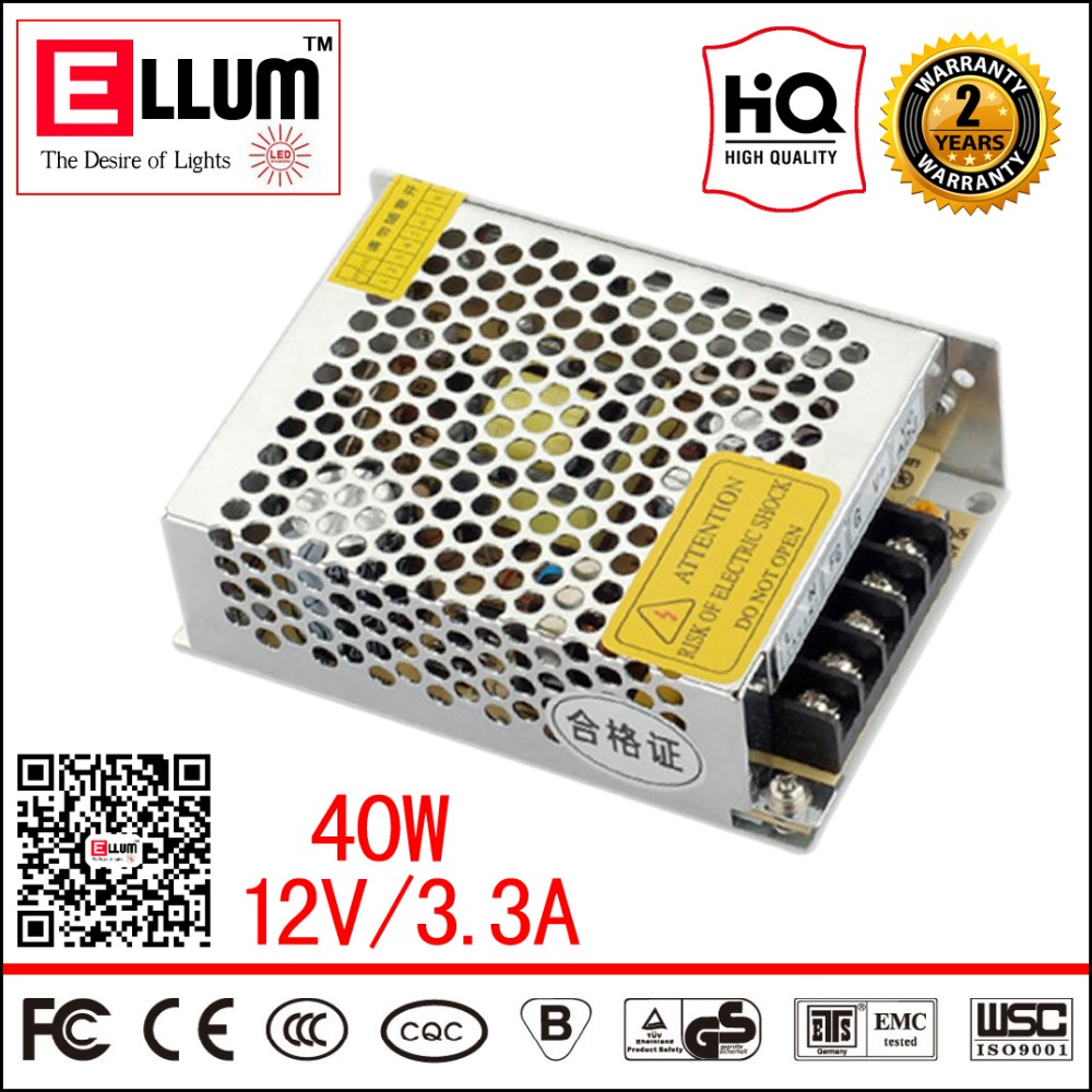 LED Module Light Power In AC220V 12V Out CE ROHS Approval Uninterruptible Switch DC Power Supply Regulated 12V 40W For Amplifier<br><br>Aliexpress