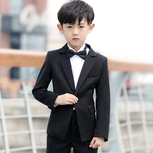 Boys Suits For Weddings Kids Prom Suits Wedding Clothes for Boys Children Clothing Sets Boy Classic Costume Boys Dresses(China)