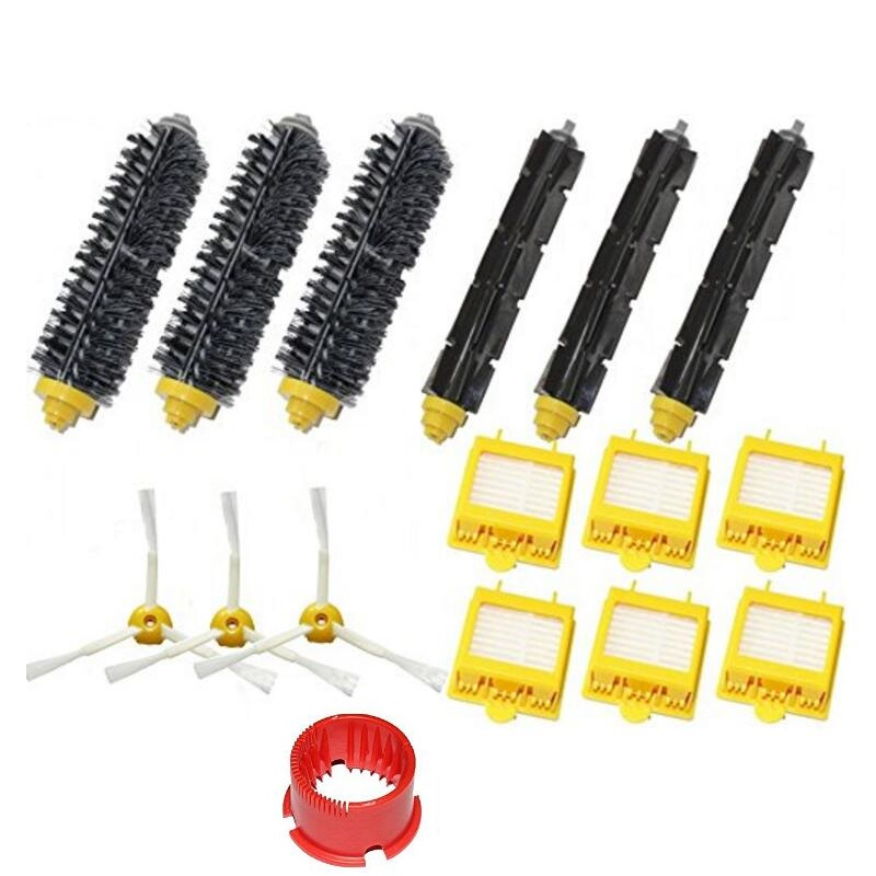 Hepa Filters &amp; Brush Pack Kit 3 Armed for iRobot Roomba 700 Series 760 770 780New<br><br>Aliexpress