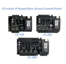 Hot sale TCP/IP Network Intelligent door Acess control Panel 30000 card capacity  access control panel C3-100 C3-200 C3-400