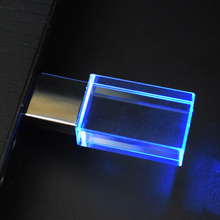 50PCS/lot Crystal USB 4GB 8GB 16GB 32GB Custom Logo USB 2.0 Memory Drive Stick Pen/Thumb/Car