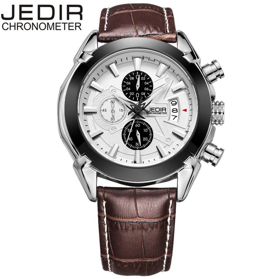 2017 JEDIR Mens Casual Military Watches Sports Quartz Day Watch Brand clock Relogio masculino Gift Box Free Ship<br><br>Aliexpress