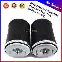2 x Pcs of Rear Left + Right Air Suspension / Air Spring for BMW 5 Series E39 OE# 37121094613 / 37121094614 --1 pair