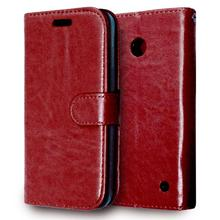 Cover For Lumia 630 Case Luxury Retro Style Flip Leather Wallet Case For Microsoft Nokia Lumia 630 Case Holder Card Slot Bag <