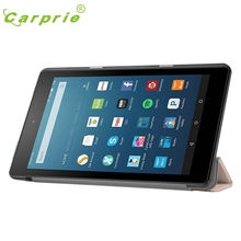 CARPRIE Flip Leather Case Cover Holder For Amazon Kindle Fire HD 8 Inch Tablet Feb4 MotherLander