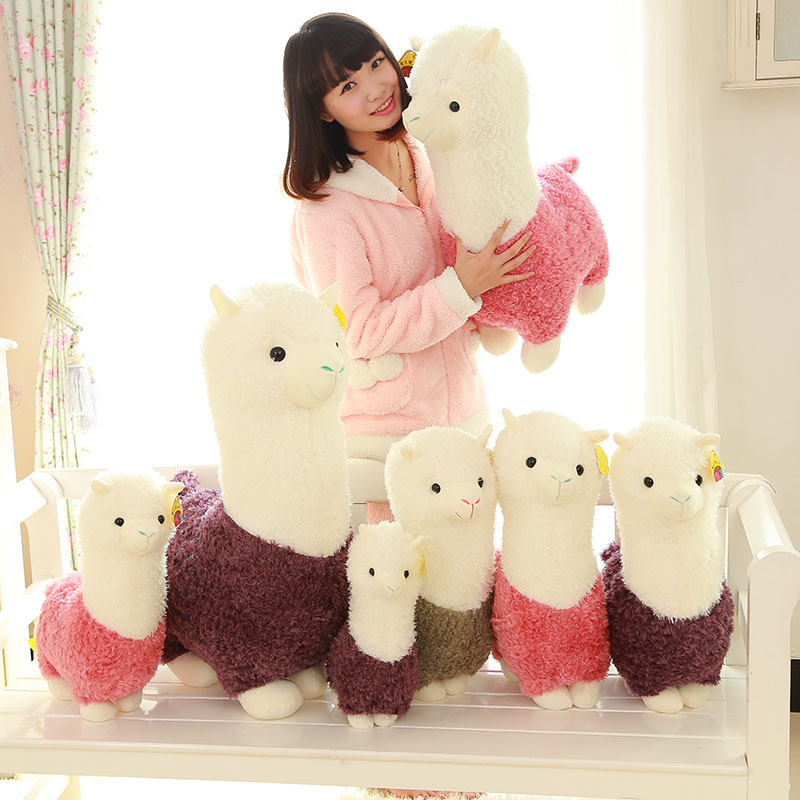 New good quality Alpaca Plush Toy Creative Kids Children Soft Stuffed Animals Toy Stuffed Alpaca Gifts<br><br>Aliexpress