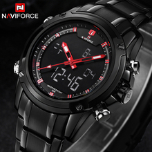 Buy NAVIFORCE Sport Men Watch Full Steel Waterproof Mens Watches Top Brand luxury Military Quartz Wristwatch relogio masculino Clock for $22.00 in AliExpress store