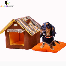 Hot!!! Designed Pet Dog House Soft Dog Kennel Dog Bed For Small Pets Cat Puppy Home Perros Animals House Removable Easy to Wash(China)