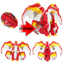 2017 new ABS Deformed Egg Ultraman Deformation robot Novelty Educational Robot Ultraman Monster Toy Free Shipping(China)