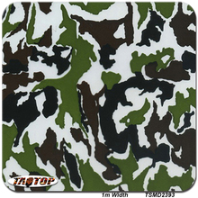 iTAATOP 1m*10m TSD2393 Green Brown Camo Digital 3D Pattern Water Transfer Printing Film Hydrographic Films(China)