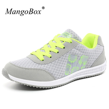 Hot 2017 Spring/Summer Running Shoes Woman Sport Sneaker Mesh Breathable Girls Athletic Shoes Cheap Walking Jogging Sneakers(China)