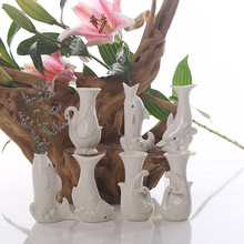 Home Decor, vases, Decoration crafts, artificial flowers vase, diy vases, Office Decor, nice gifts,animal vases