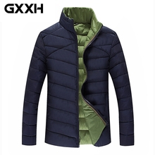 WINTER JACKET MEN 2017 Parka Warm Plus BIG SIZE 5XL Large XXXL 4XL 6XL 8XL Big TALL Man Fashion Overcoat Thick Casual Coats Male(China)