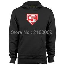 Gimme 5 - Johnny Bench Mens & Womens Vintage Hoodies Sweatshirts(China)