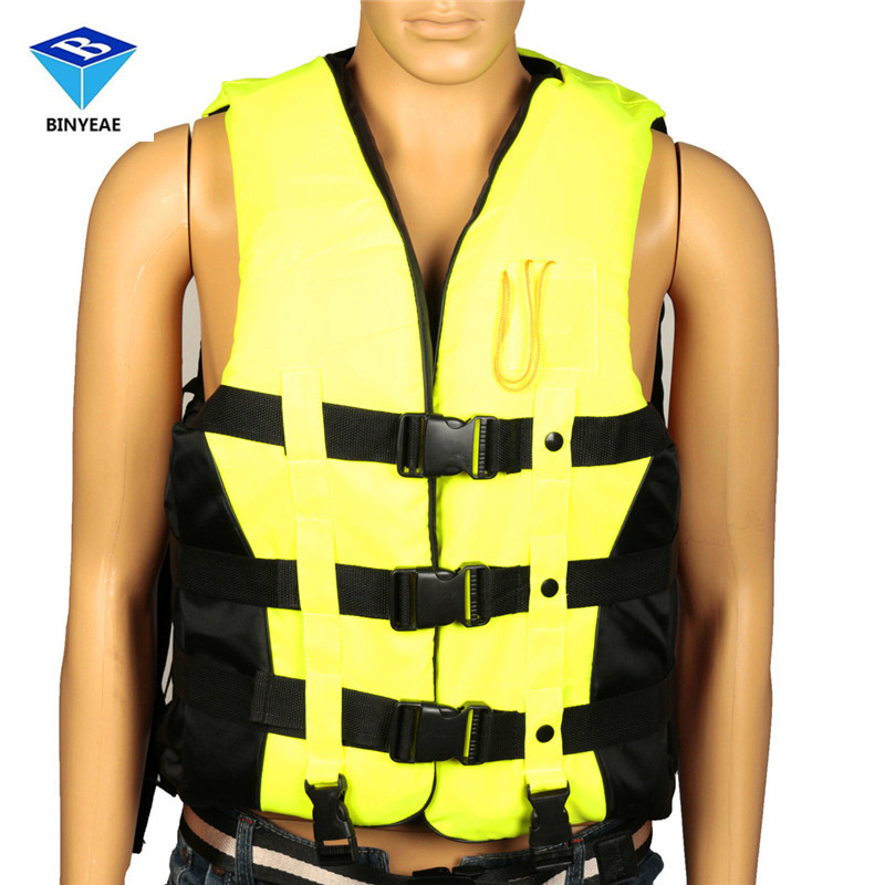 Xxl Epe Adult Swimming Boating Surfing Sailing Polyester Foam Life Jacket Vest Whistle Prevention Flood With Stride Across Zone<br>