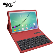 For Samsung Galaxy Tab S2 9.7 T810 T815 Wireless Bluetooth Keyboard PU Leather Flip Cover Screen Protector + Stylus Pen