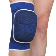 Sponge Knee Wrap Support Brace Football Basketball Athletic Sport Knee Protection Pad Elastic 88 B2C Shop(China)