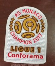 2017 Ligue 1 Champions Patch League 1 champions Soccer Patch France De Football Ligue 1 Soccer Patch Badge(China)
