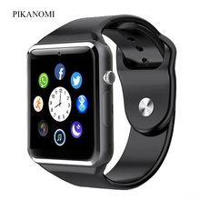 2017 1.56 Inch WristWatch Bluetooth Smart Watch Android With Camera Sim Card Smartwatch For IOS Iphone Russia Whatsapp Facebook