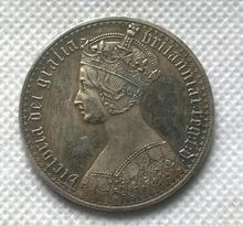 United Kingdom 1 Crown - Victoria COIN COPY FREE SHIPPING(China)