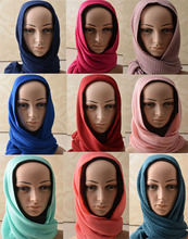 Women scarfs 2016,cotton plain scarf,Plain viscose hijab,Ripples pattern,Muslim hijab,cape,shawls and scarves,wraps,muffler