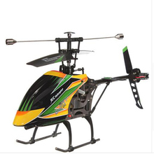 High Quality WLtoys Large 52cm 2.4Ghz 4Ch Single Blade Remote Control RC Helicopter Gyro RTF(China)